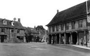 Minchinhampton, Market Square c1955