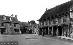 Minchinhampton, Market Square c.1955