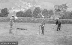 Minchinhampton, Playing Golf, 17th Hole 1910