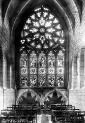 Minchinhampton, The Church, The Rose Window 1901