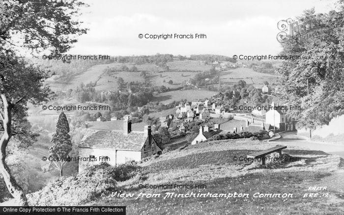 Photo of Minchinhampton, View From The Common c.1950