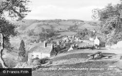 Minchinhampton, View From The Common c.1950