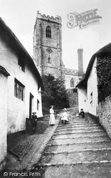 Church Steps 1903, Minehead