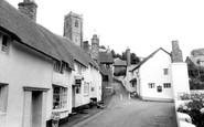 Minehead, Church Steps c1960
