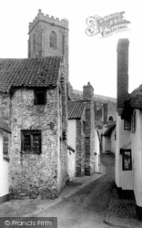 St Michael's Church And Church Steps c.1879, Minehead