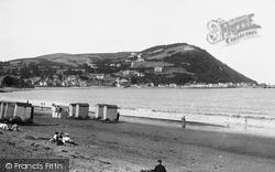 The Beach 1906, Minehead