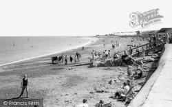 The Beach c.1960, Minehead