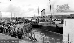 The 'bristol Queen' In The Harbour c.1960, Minehead