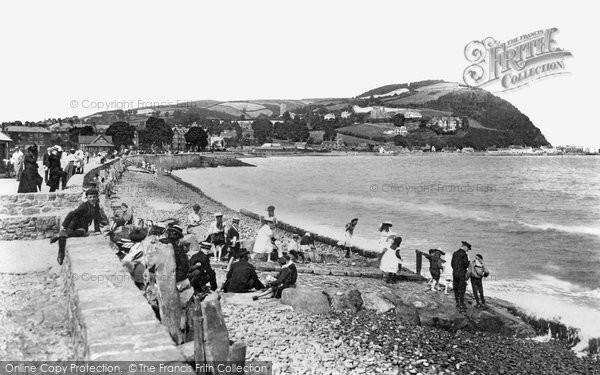 Photo of Minehead, the Esplanade 1901, ref. 47366