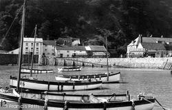 The Harbour c.1950, Minehead