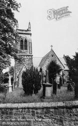 Minera, St Mary's Church c.1955
