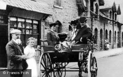 Minllyn, People In The Village c.1900
