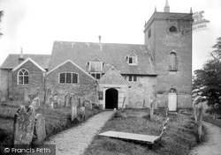 Minstead, All Saints Church 1923