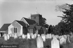 Minstead, All Saints Church 1955