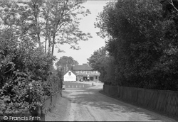 Minstead, Entrance To The Village 1955