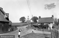 Minstead, The Village 1955