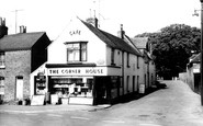 Minster-in-Thanet, the Corner House Cafe c1960