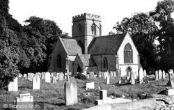 St Kenelm's Church c.1955, Minster Lovell