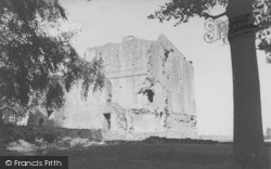 The Manor House Ruins c.1955, Minster Lovell