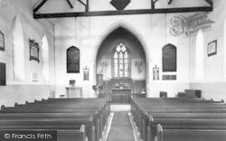 Misterton, Church Interior c.1960