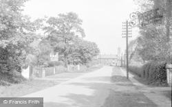 Misterton, Grove Wood Road c.1958
