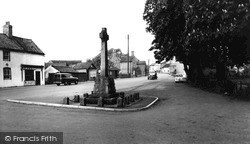 Misterton, High Street 1958
