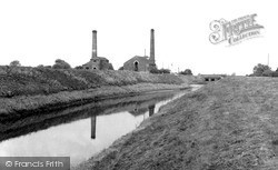 Pump Houses On The River Idle, Soss Lane 1958, Misterton