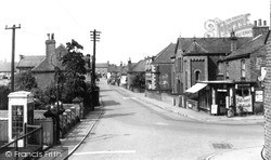 Misterton, School Corner 1960