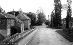 Misterton, Station Road 1958