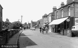Misterton, Station Street 1958