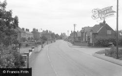 Misterton, Station Street 1960