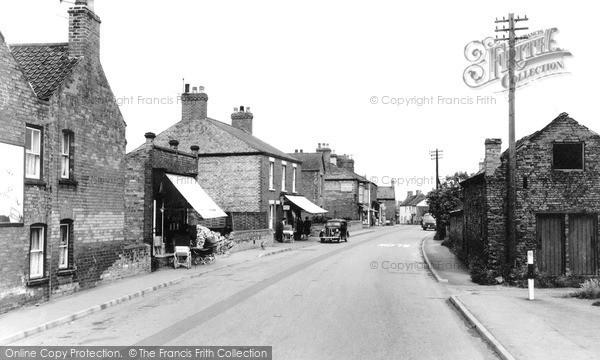 Photo of Misterton, Station Street 1960