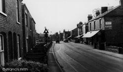 Misterton, Station Street 1962