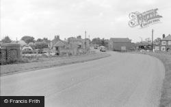 Misterton, Station Street From Bridge 1962