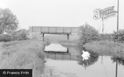 Misterton, The Canal 1958