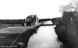 Misterton, The Canal And Packet Inn 1964