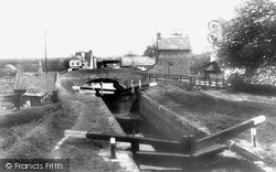 Misterton, The Canal Locks 1964