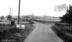 Misterton, The Cross Roads c.1955