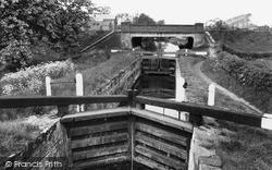 Misterton, The Locks And Bridge 1958