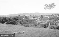 Misterton, The Recreation Ground c.1955