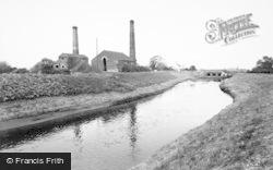 Misterton, The River Idle c.1958