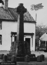 Misterton, The War Memorial 1958