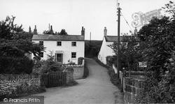 Misterton, Unity Lane c.1955