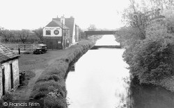Misterton, View From The Old Bridge 1958