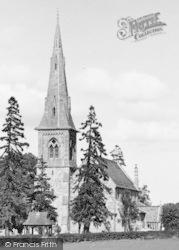 Mistley, St Mary's New Church c.1955