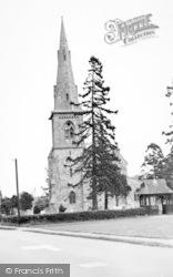 Mistley, The Church c.1955