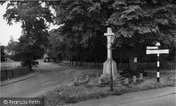 Mistley, The Memorial c.1955