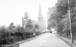 Mistley, The New Road c.1955