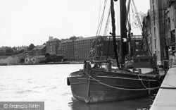 Mistley, The Quay c.1955