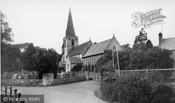 Mitford, Church Of St Mary Magdalene 1954